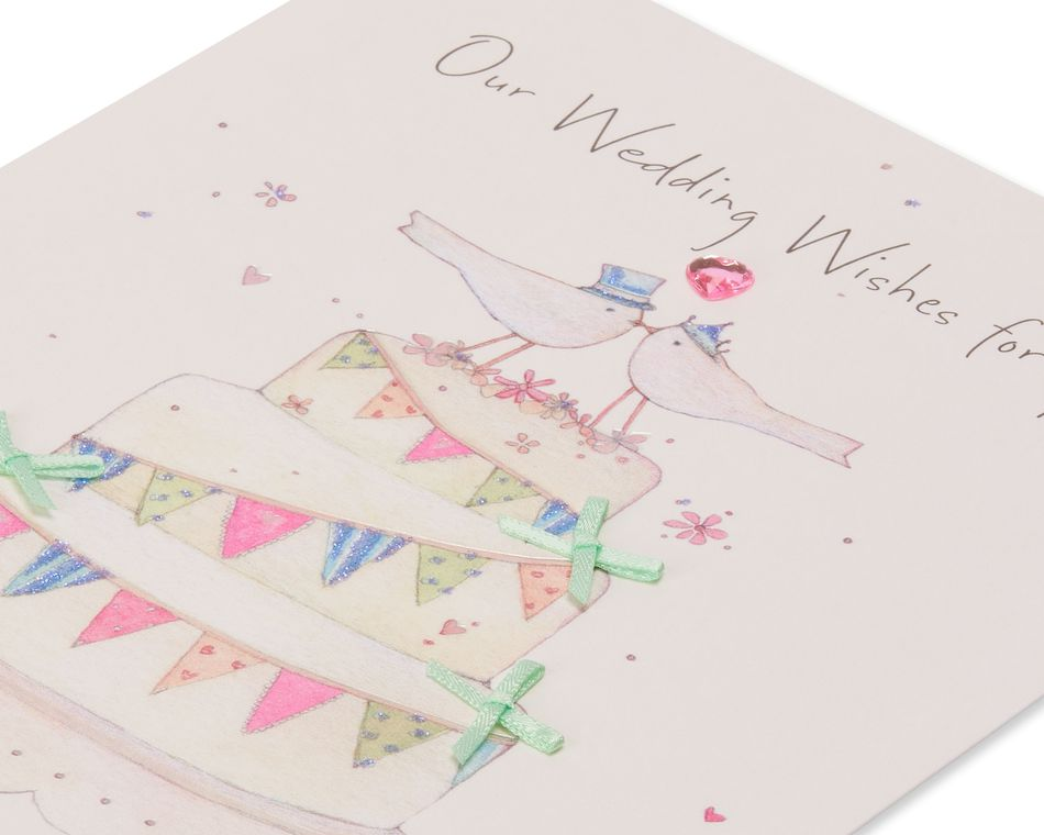 Wedding Wishes Wedding Card