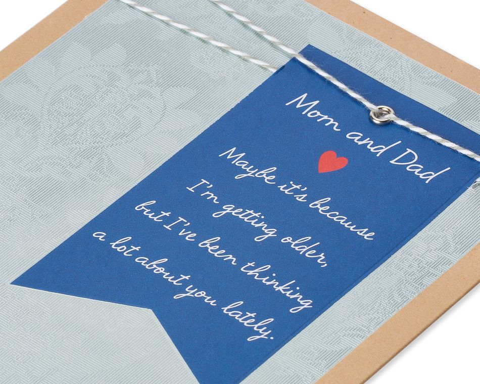 I Love You Anniversary Card for Parents