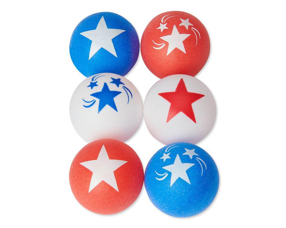 Patriotic Ping-Pong Balls