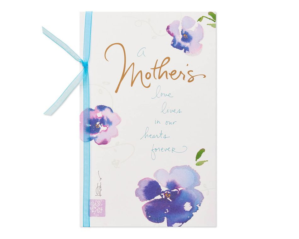 Floral Mother's Love Sympathy Card