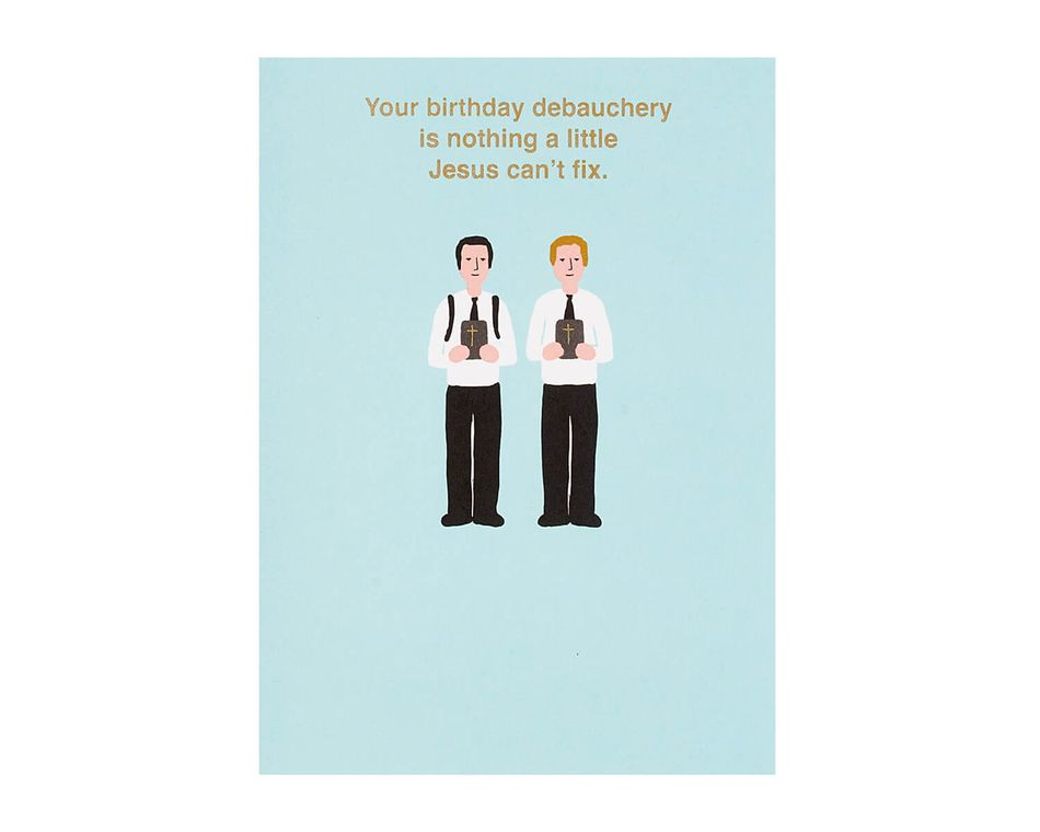 Can't Fix Birthday Card