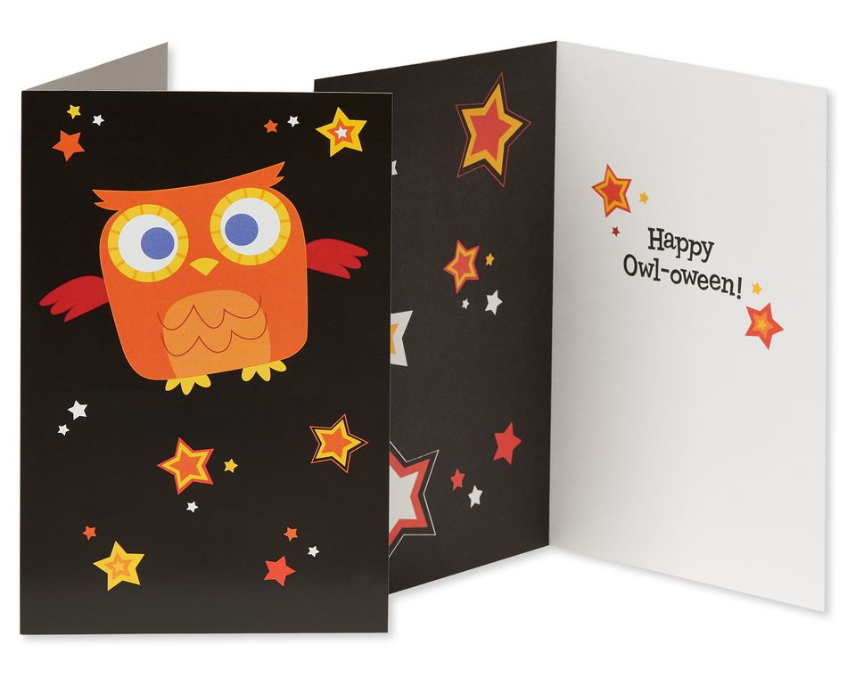 Halloween Greeting Card Bundle for Kids, 5-Pack