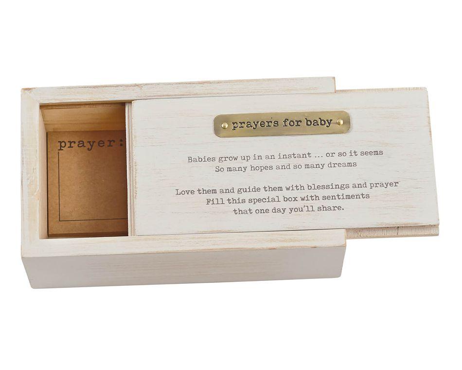 Mud Pie Baby Prayer Box