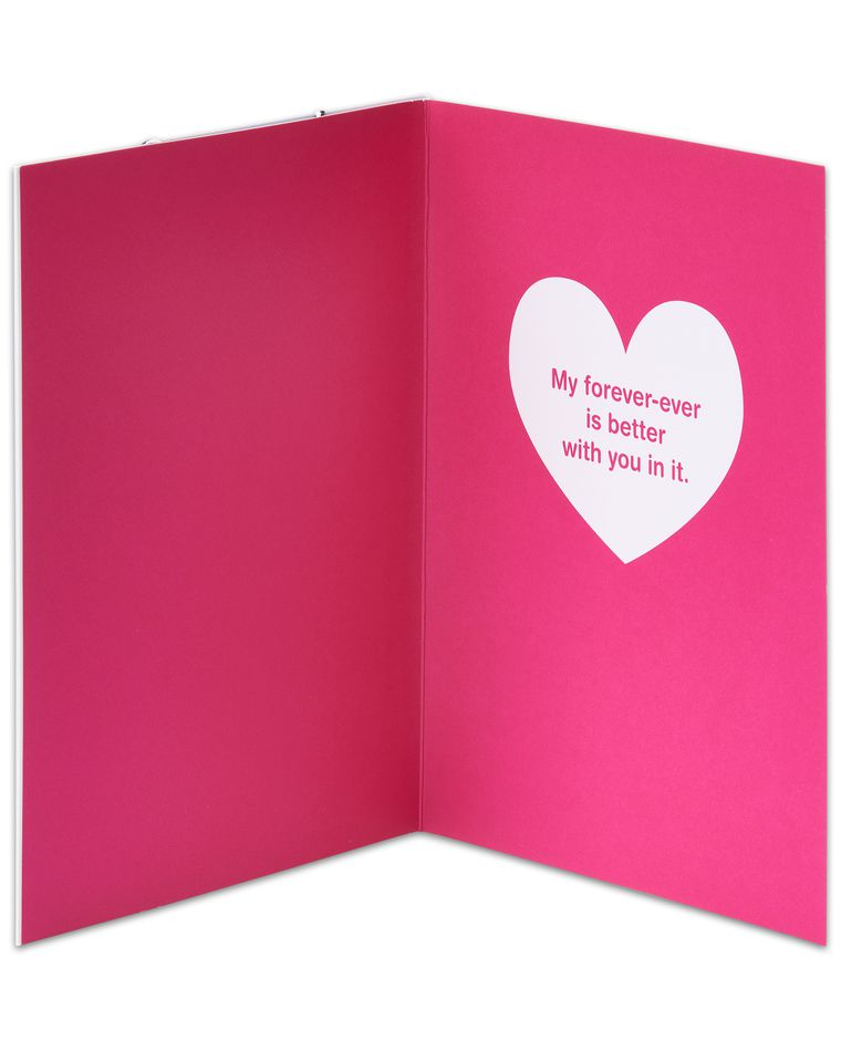 Infinity Valentine's Day Card