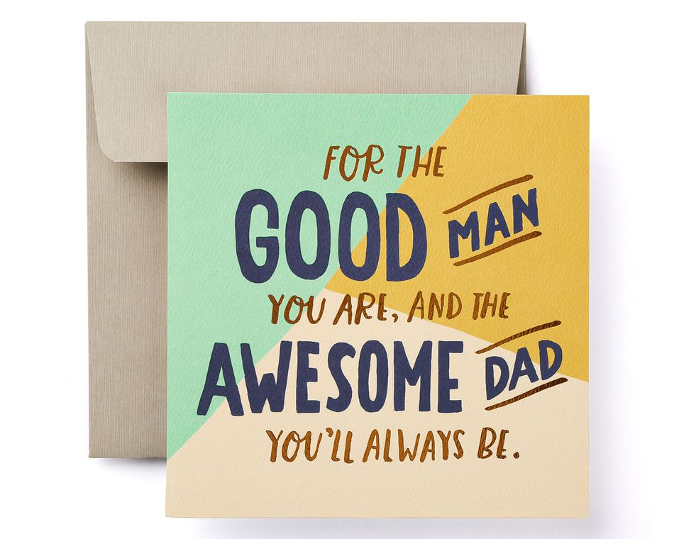 Awesome Father's Day Card