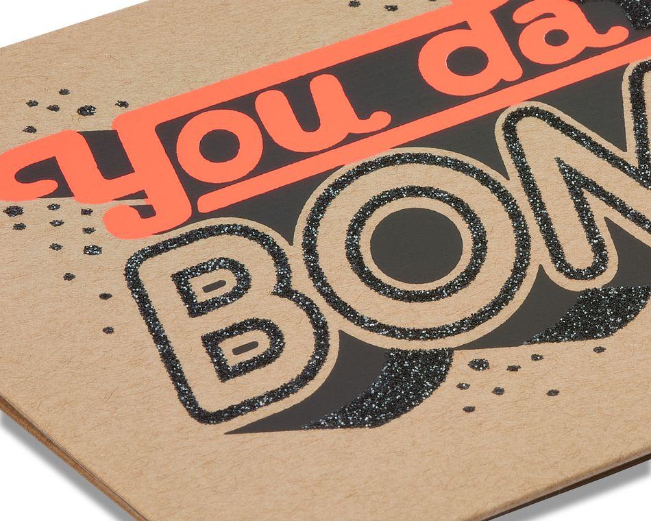 you da bomb blank card