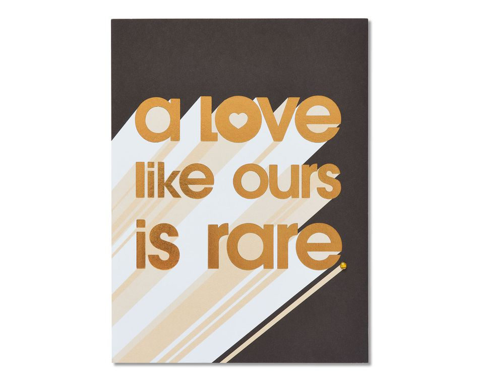 Rare Romantic Card