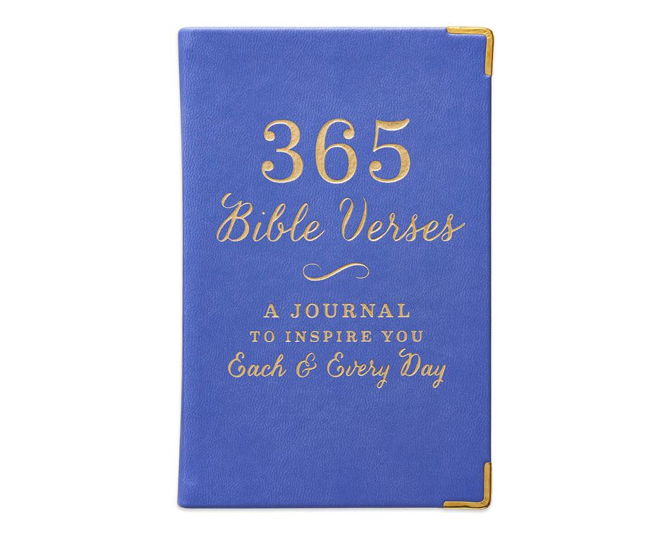 Eccolo 365 Bible Verses Mini Journal