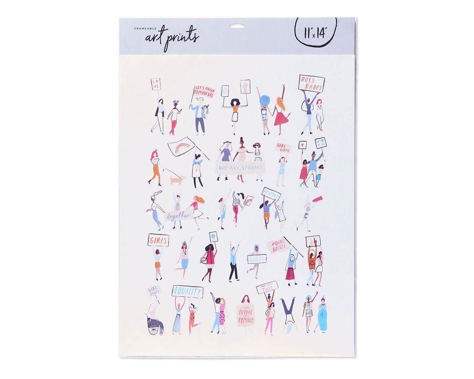 Girls Frameable Art Print, 11