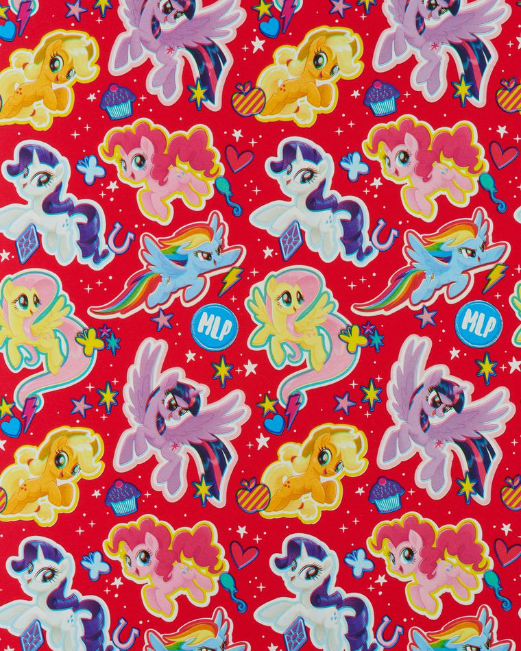 My Little Pony Wrapping Paper, 20 sq. ft.
