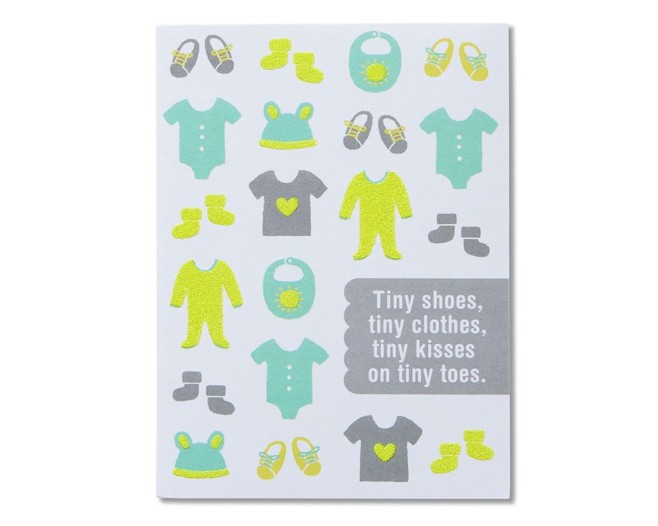 Baby Shower Baby To Be Congratulations American Greetings Card  Cute Animals