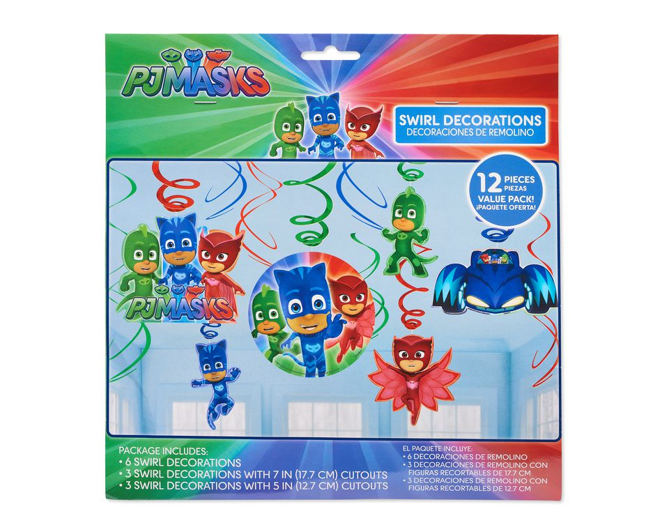 PJ Masks Hanging Party Decorations