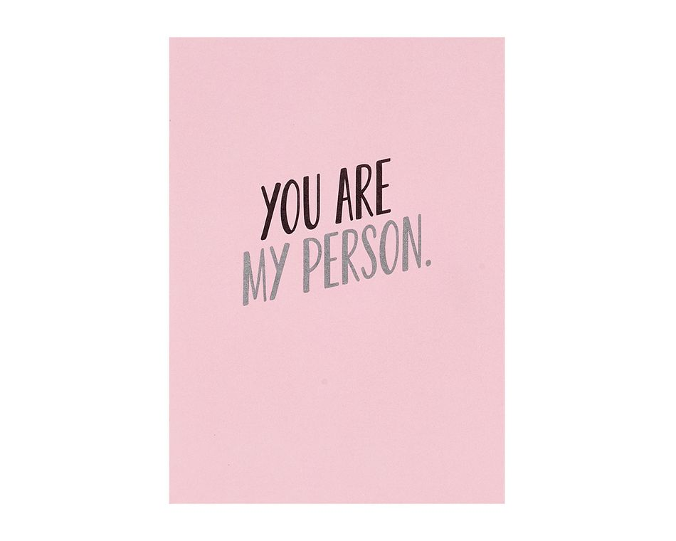 My Person Romantic Card