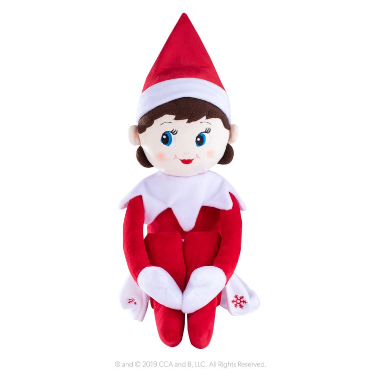 The Elf on the Shelf® Plushee Pals Huggable Girl, Jumbo, 27 in.