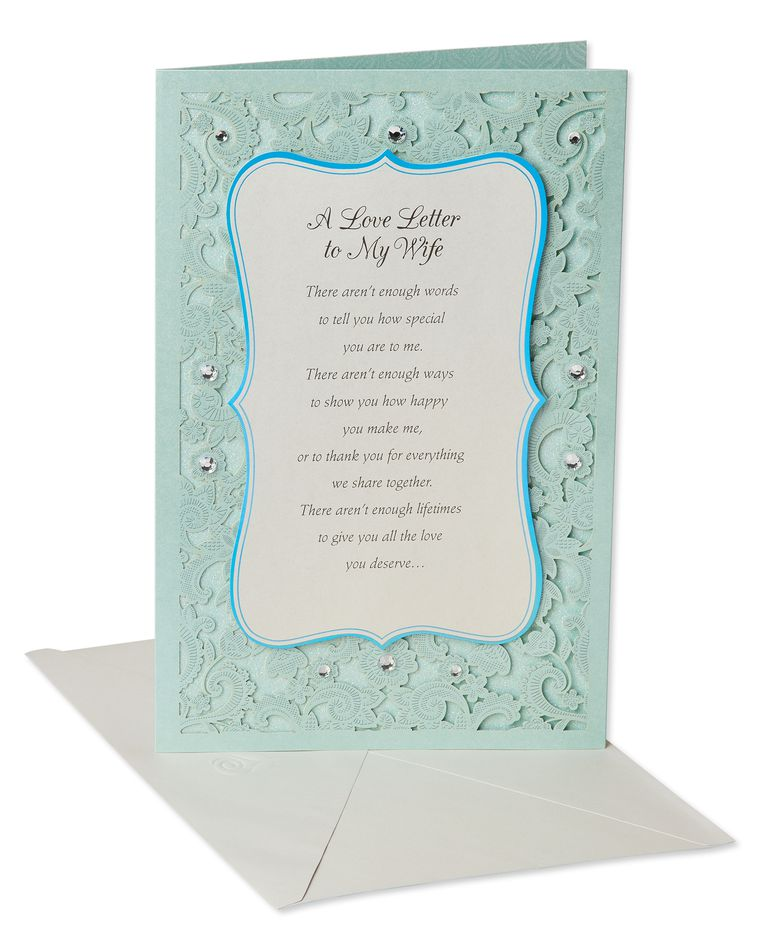 Love Letter Mother's Day Card