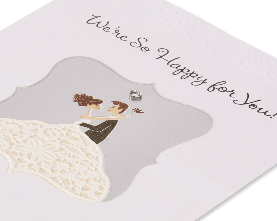 Beautiful Life Wedding Card
