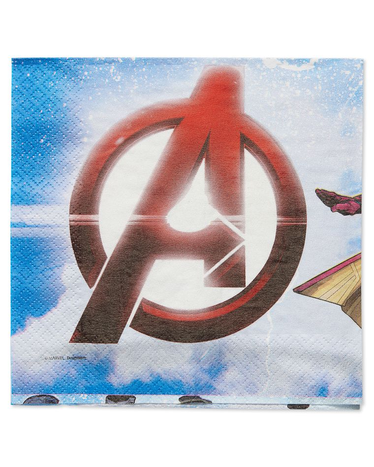 Epic Avengers Lunch Napkins, 16 Count, Party Supplies