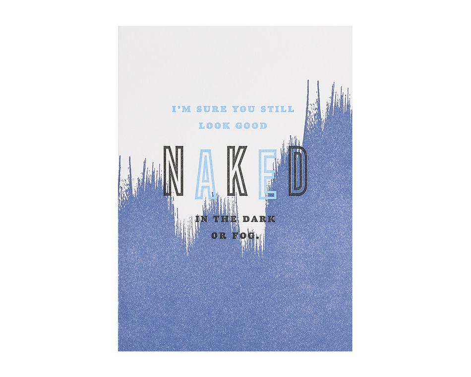 Dark Or Fog Birthday Card