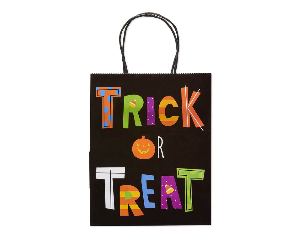 Small Trick or Treat Halloween Gift Bag