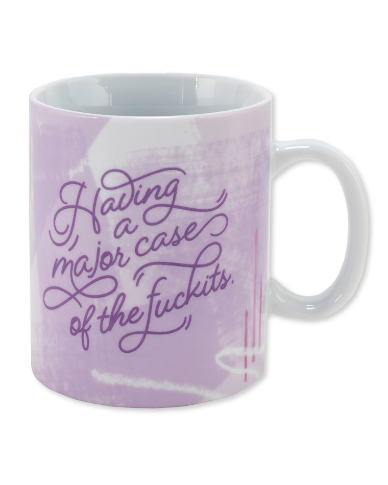 major case of the fuckits coffee mug