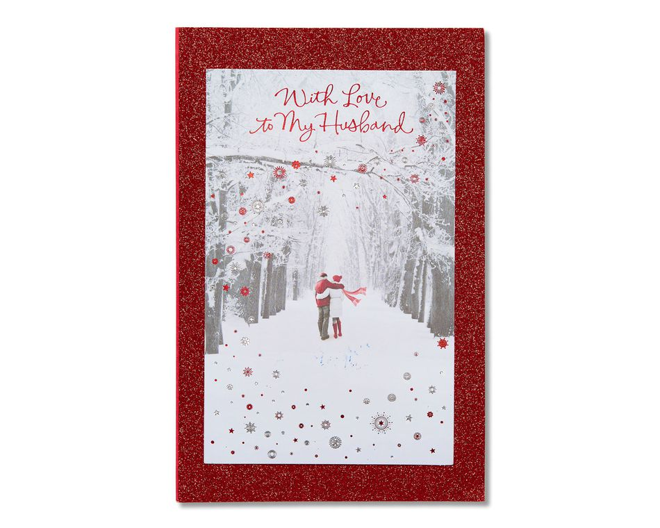 Husband Christmas Cards.All My Heart Christmas Card For Husband