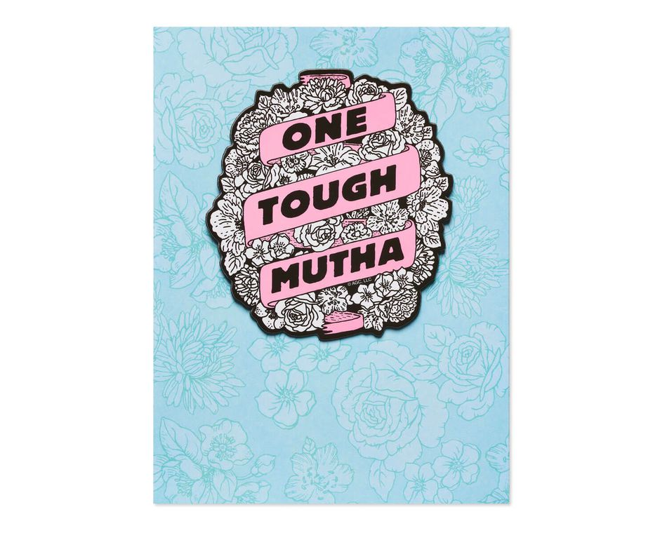Tough Mutha Mother's Day Card