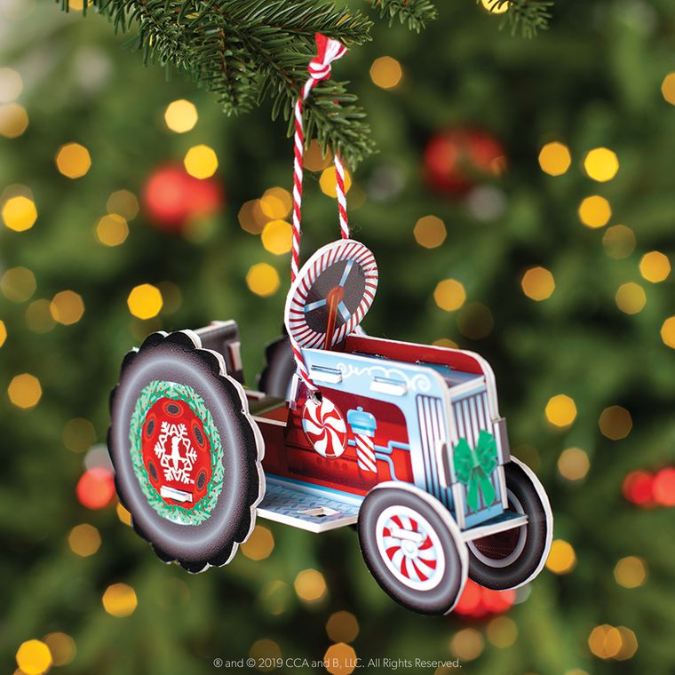 The Elf on the Shelf® Orna-Moments, Twinkle Tractor