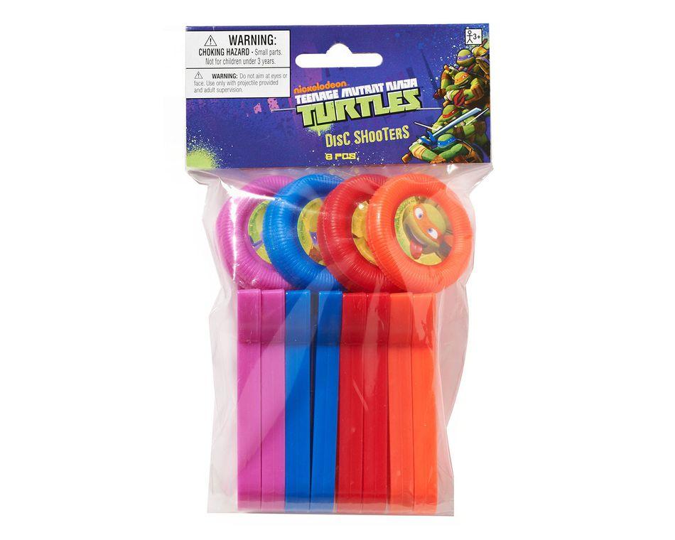 teenage mutant ninja turtles disc shooter 8 ct