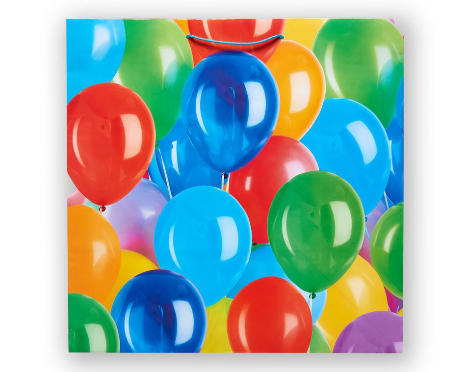 Jumbo Balloon Fun Birthday Gift Bag