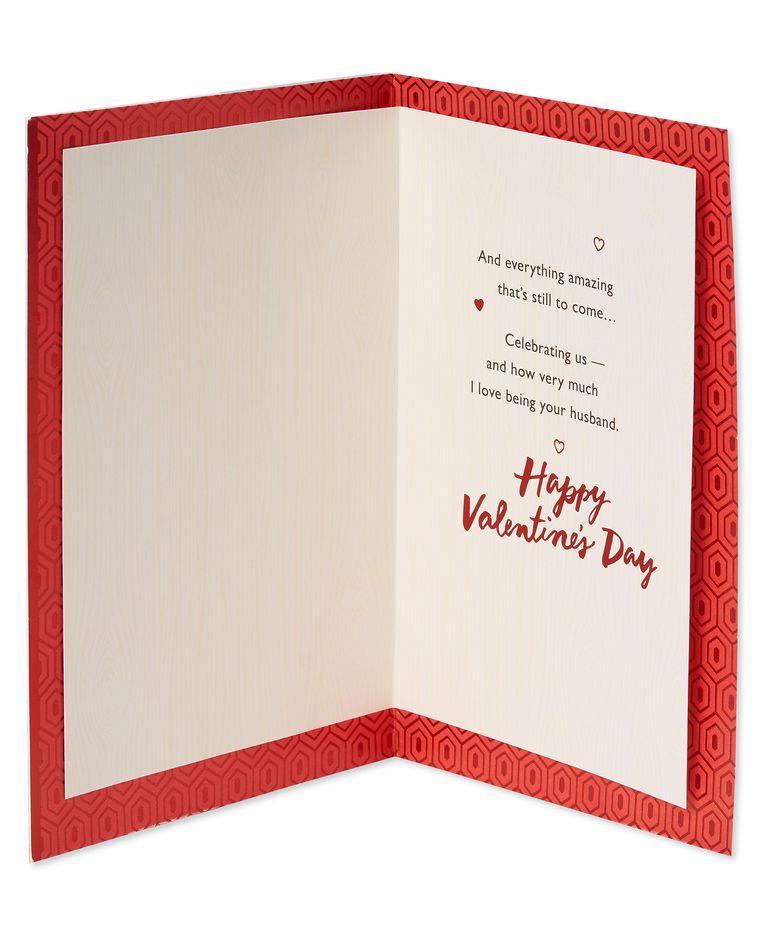 Husband to Husband Valentine's Day Card