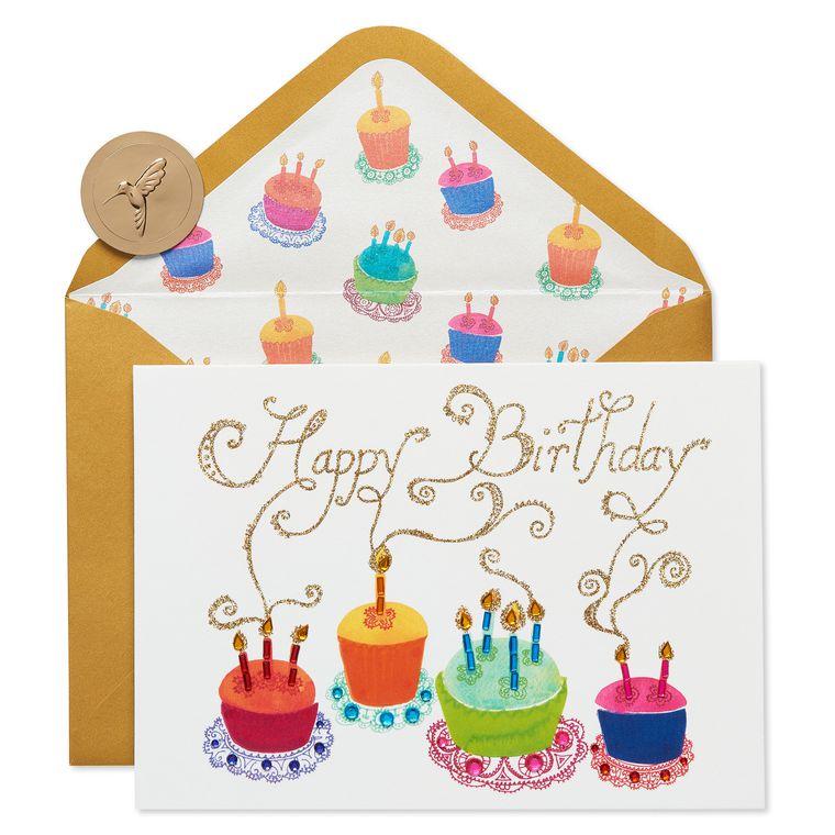 Cupcakes Birthday Greeting Card