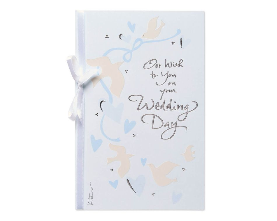 Our Wish Wedding Card