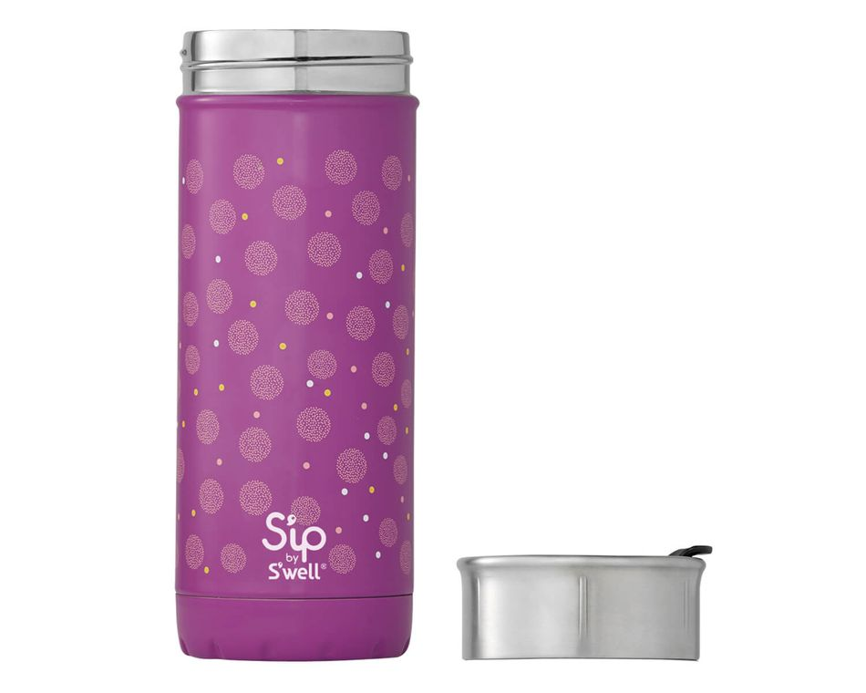 S'ip By S'well 16 Oz. Periwinkle Stainless Steel Travel Mug