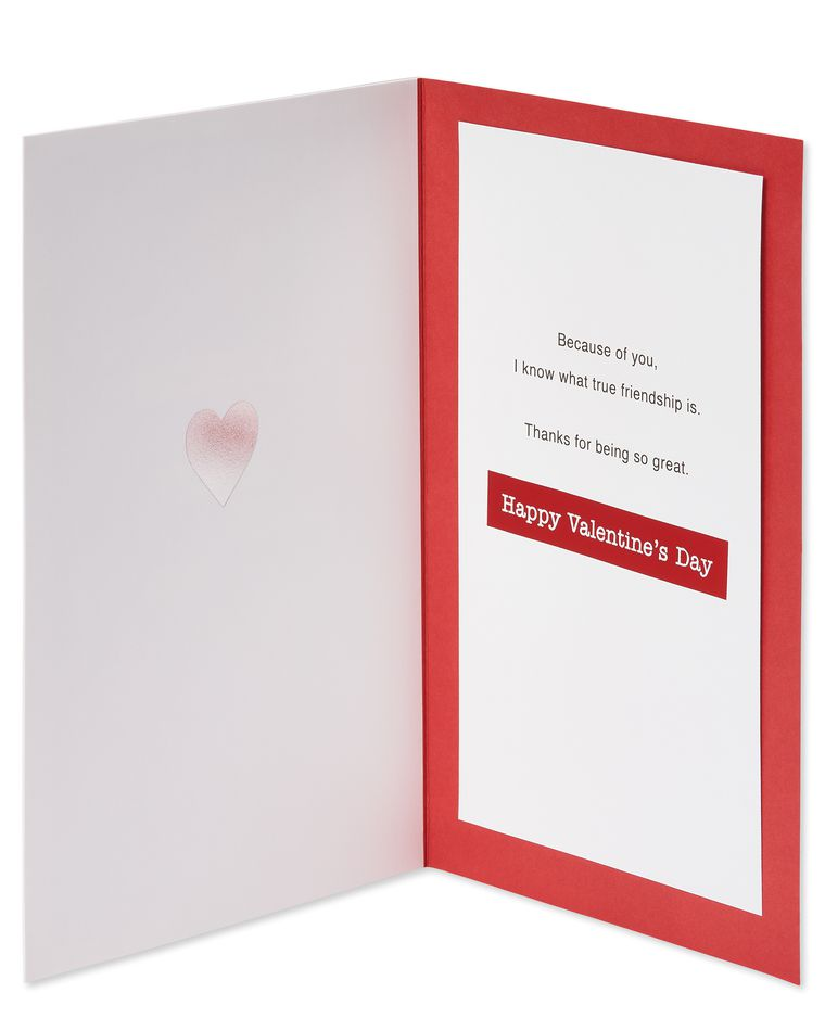 True Friendship Valentine's Day Card