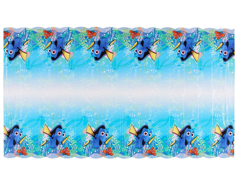 finding dory plastic table cover  54 in x 96 in