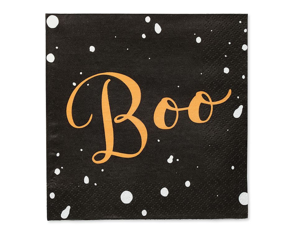 Ghosts and Stars Paper Beverage Napkins, 30-Count