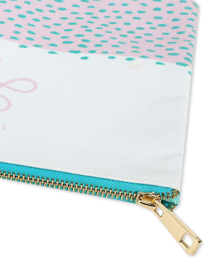 important lady stuff zipper pouch