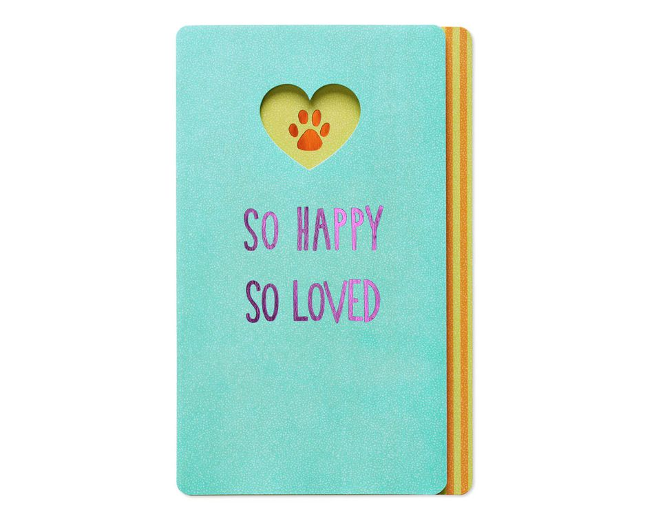 So loved mothers day card from dog american greetings so loved mothers day card from dog m4hsunfo