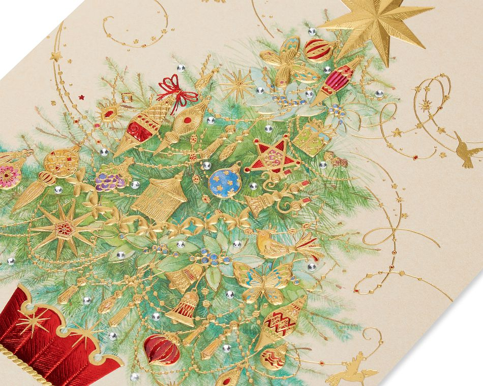 Christmas Tree Christmas Greeting Card