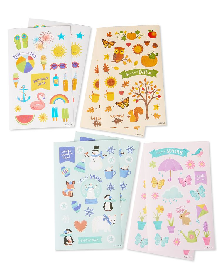 Seasons and Holidays Stickers, 174-Count