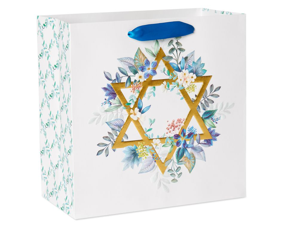 Large Hanukkah Gift Bag