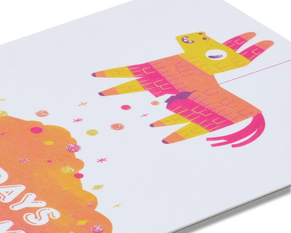 Piñata Birthday Card