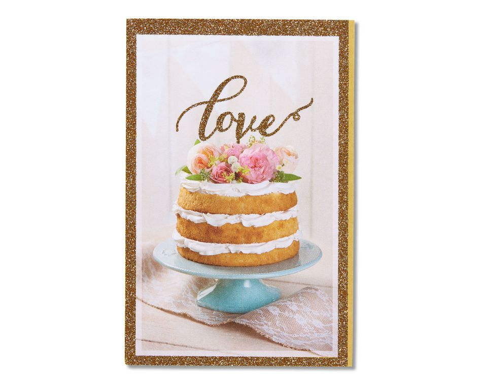 love bridal shower card