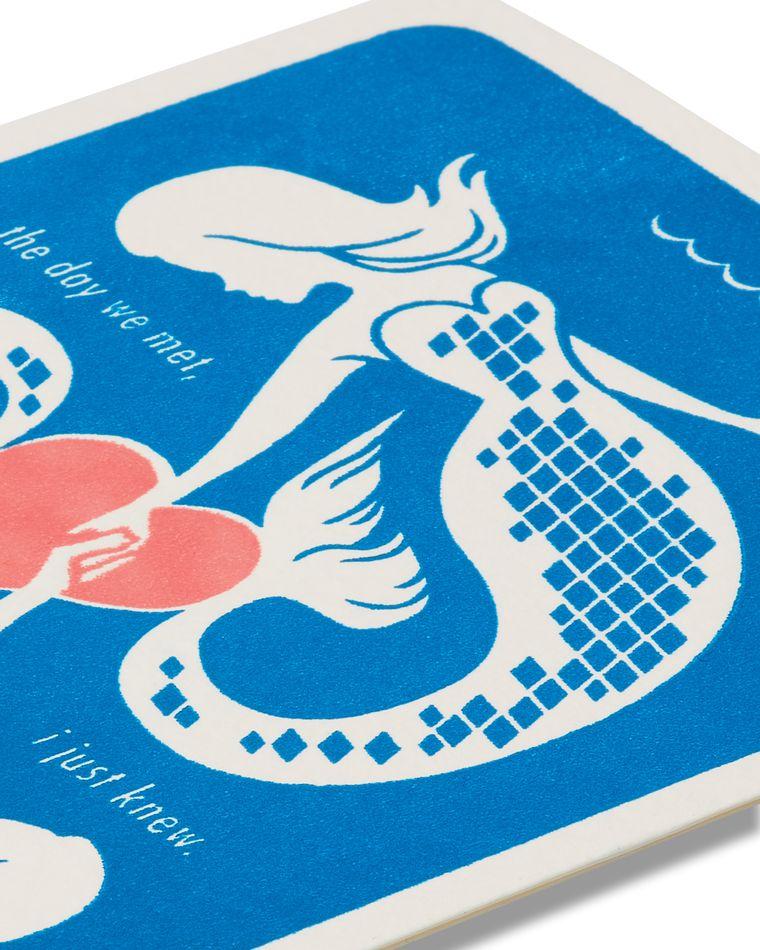 Mermaids Romantic Card