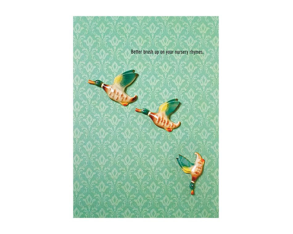 Nursery Rhymes Baby Card For The Parents-To-Be