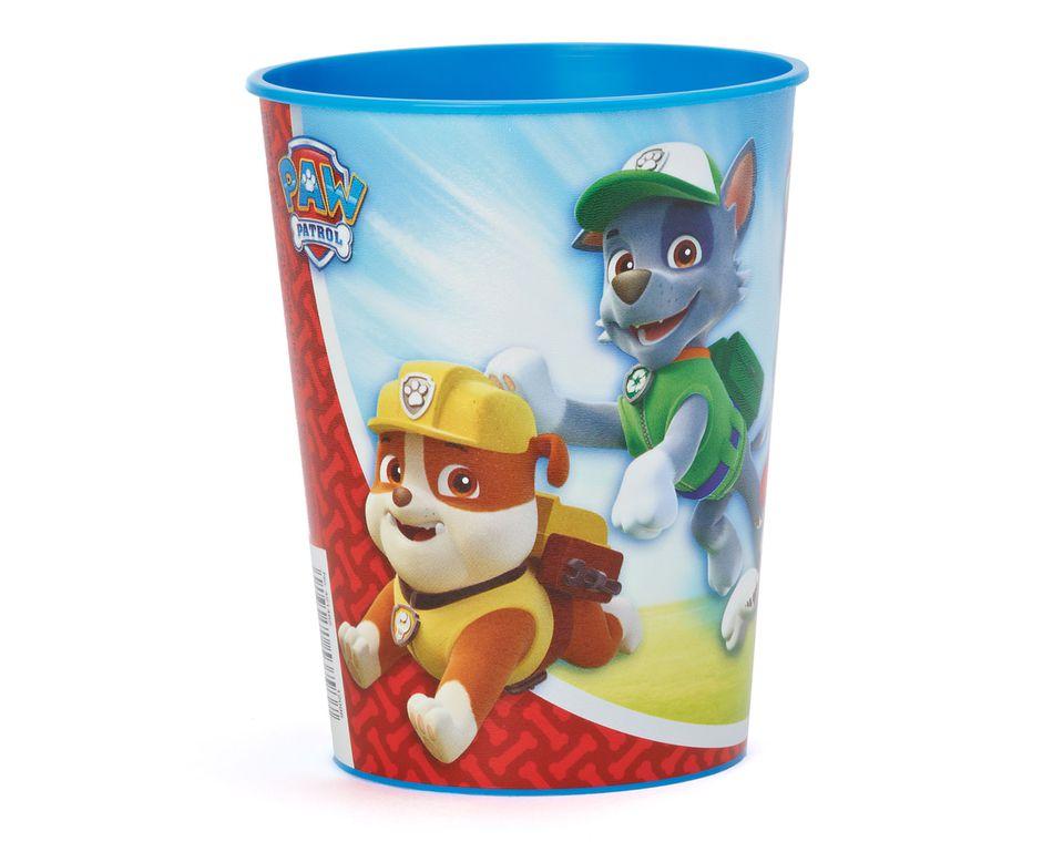 paw patrol plastic stadium cup