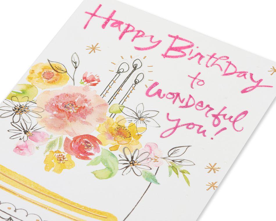 Kathy Davis Cake Birthday Card