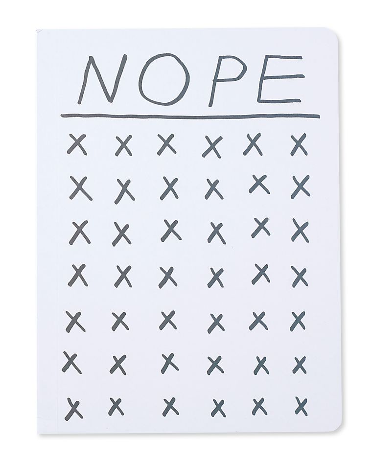 yep & nope journals (set of 2)