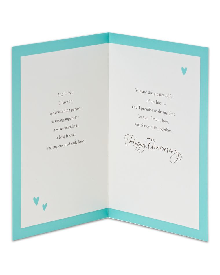 Greatest Gift Anniversary Card