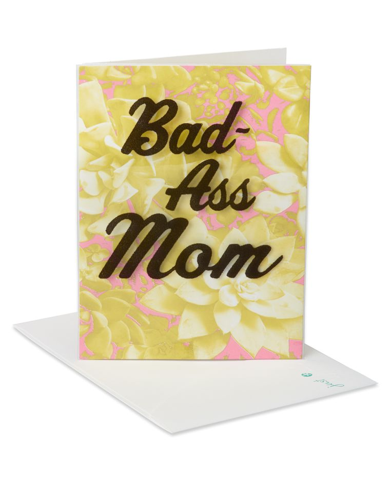 Bad-Ass Mother's Day Card